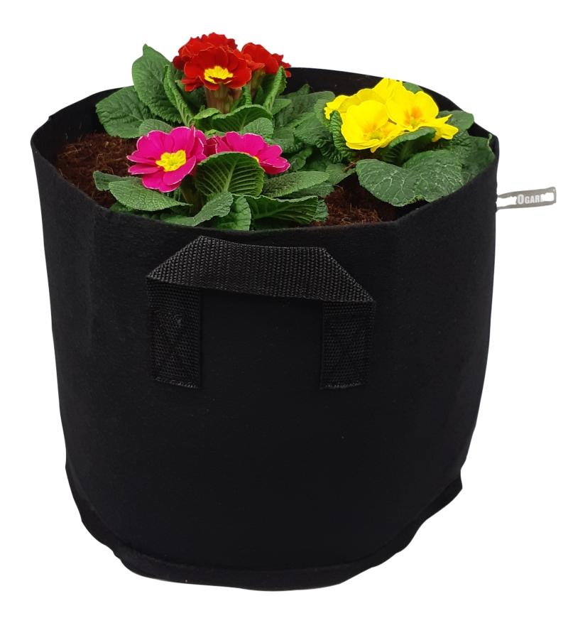 Sadilna vreča PlantIN 19l črna